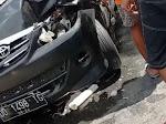Kecelakan di Patangkai, Libatkan 2 Mobil