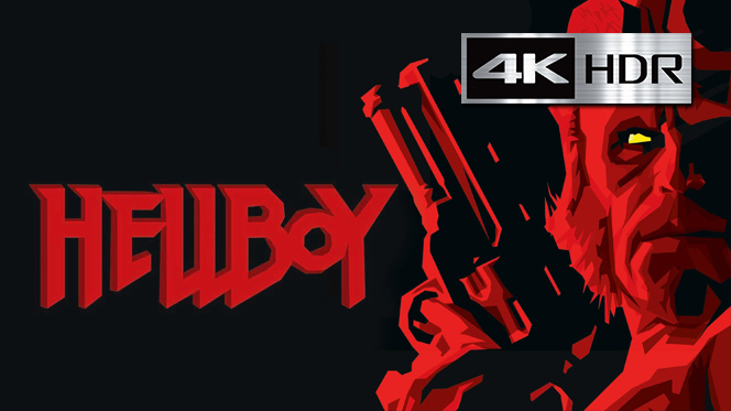 Hellboy (2004) DC 4K UHD [HDR] Latino-Castellano-Ingles