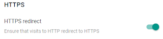 HTTPS redirect
