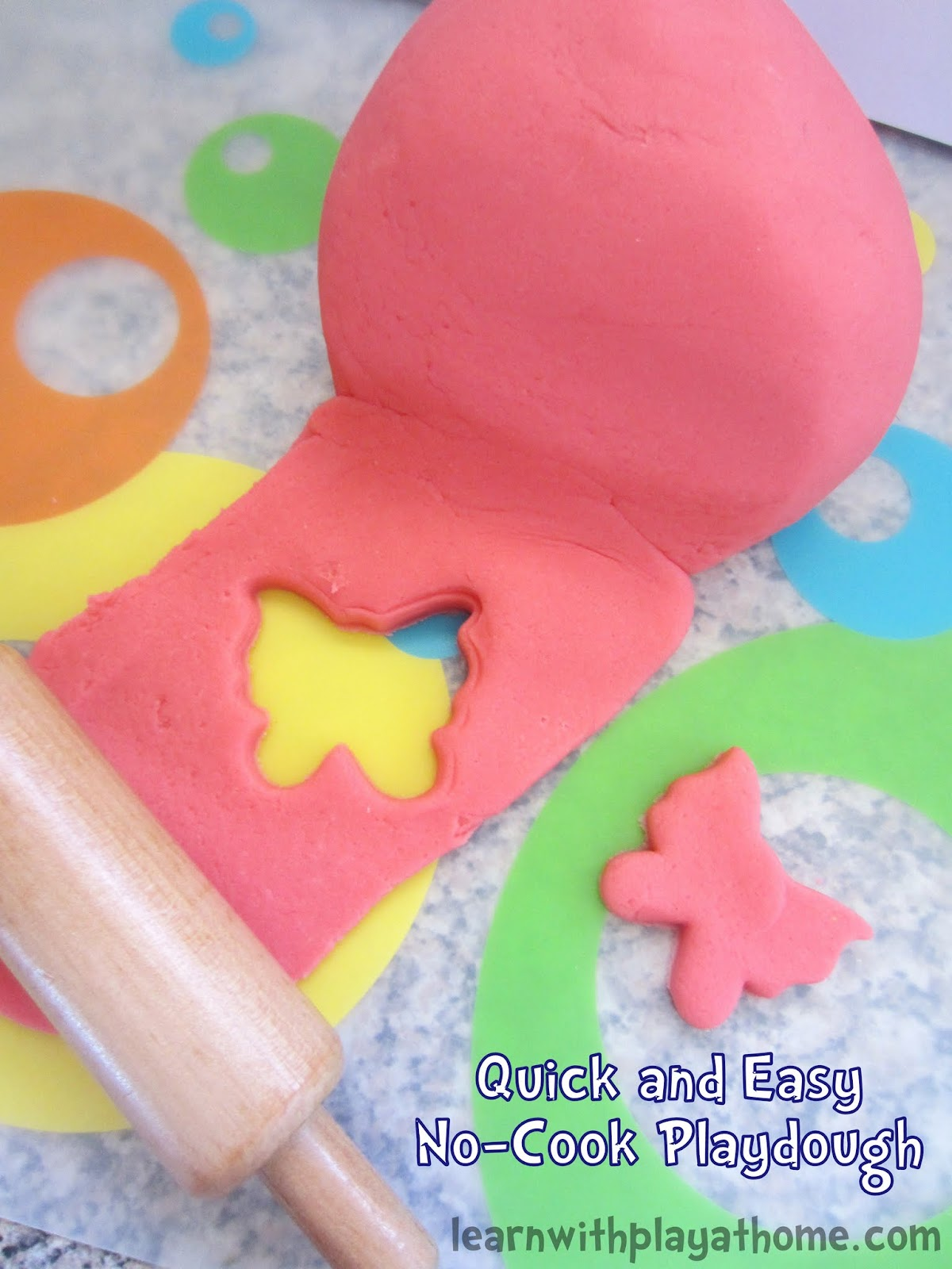 Quick Easy Makeup Tips Ideas For Work: Learn With Play At Home: Quick And Easy No-Cook Playdough