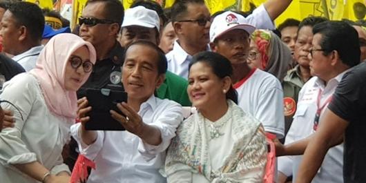 Antar Jokowi Pakai Becak, Kamising: Rasanya Senang