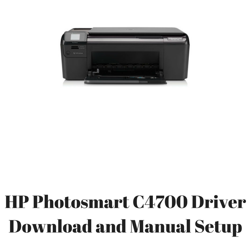 DRIVER UPDATE: HP C4700 WIRELESS PRINTER