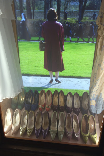 shoes, 1950's, set design, wardrobe, costumes