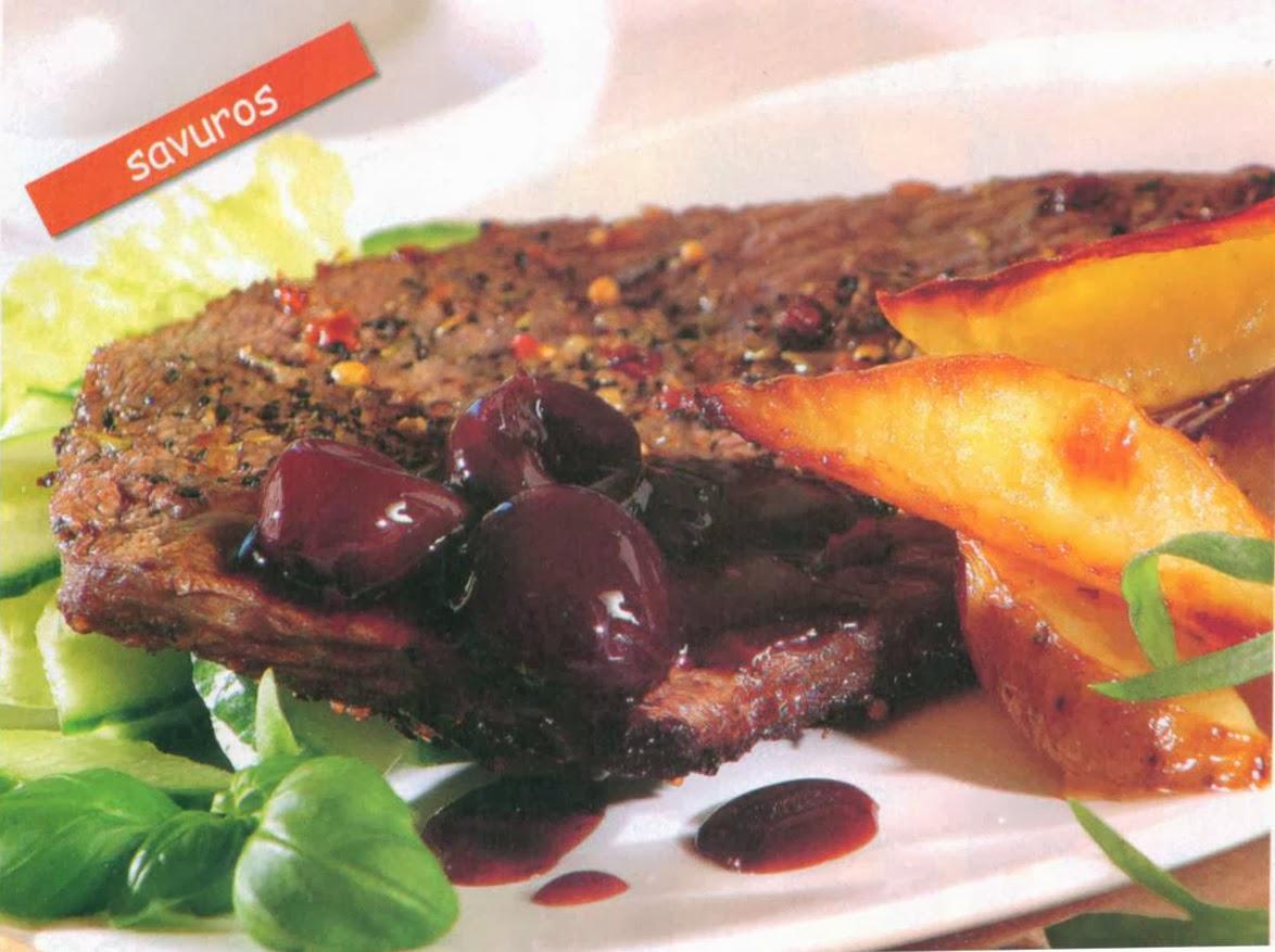 Reţetă culinară: terină cu cireşe