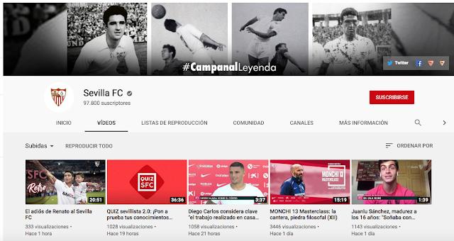 Youtube Sevilla FC