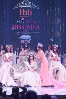 Foto Manushi Chhillar Miss India World 2017