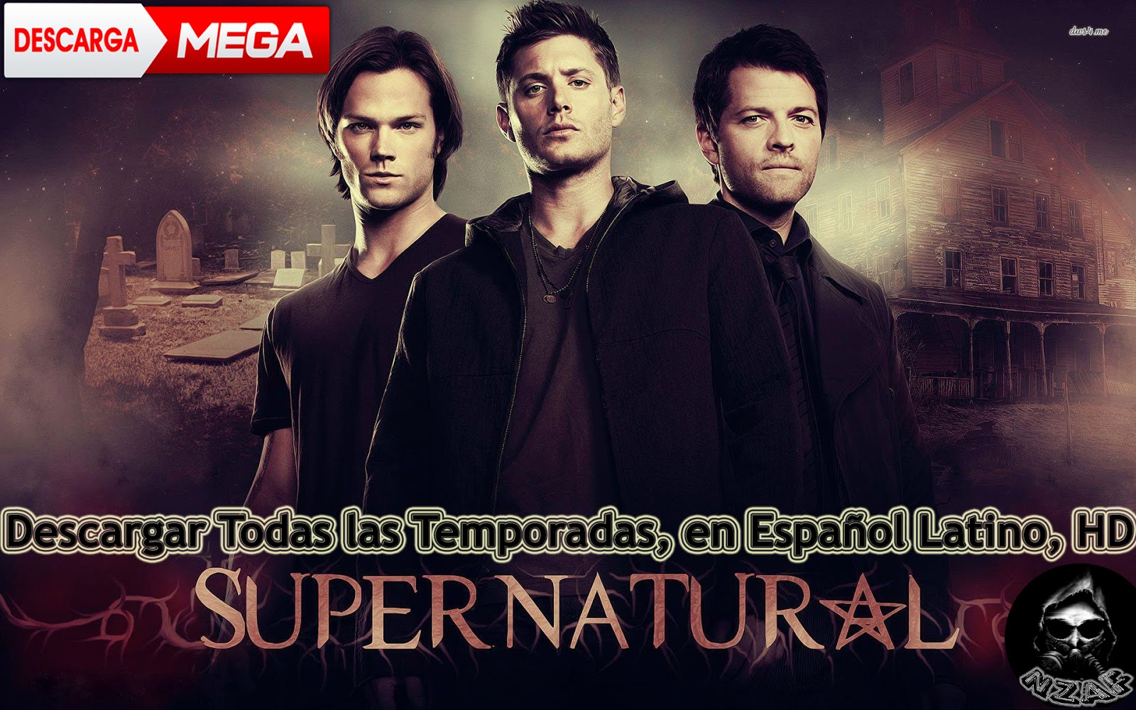 Supernatural Libros Nzaf Descargar Todas Las 14 Temporadas De Supernatural En