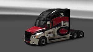 Bad River Transport Skin for Freightliner Cascadia 2018