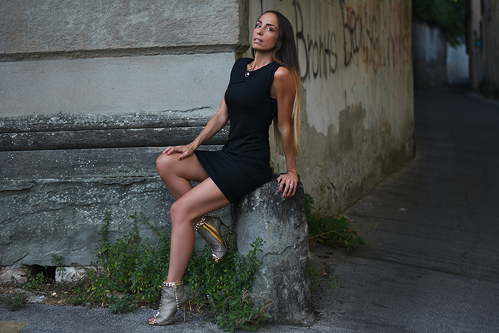 little black dress versione rock