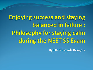 NEET SS Exam Inspiration