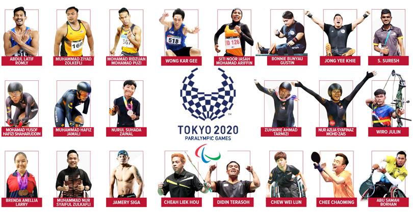 Sukan Paralimpik Tokyo 2020