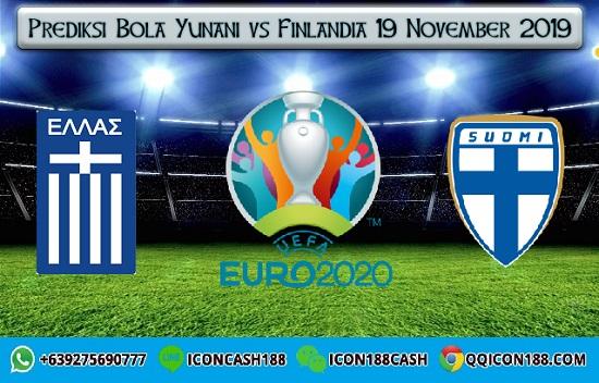 Prediksi Bola Yunani vs Finlandia 19 November 2019