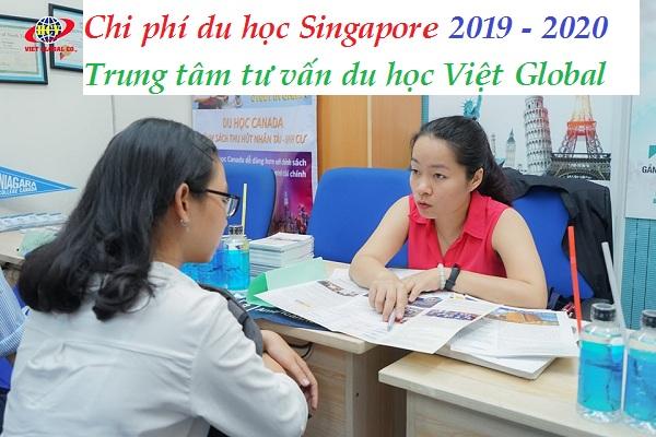 Chi phí du học Singapore 2019-2020