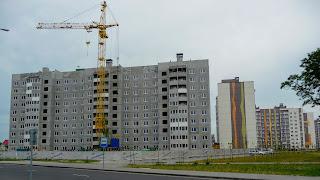 Пінськ. Нові мікрорайони