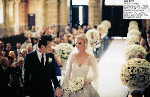Vogue US Feature Caroline Trentinis Wedding Dress Coco