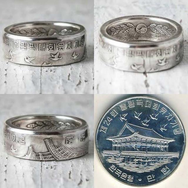 Εντυπωσιακές μετατροπές παλιών κερμάτων σε κοσμήματα και έργα τέχνης
