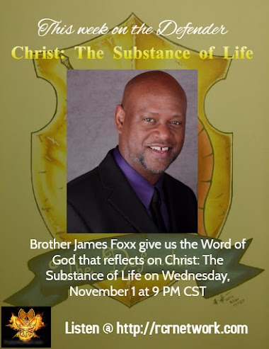 Christ: The Substance.....