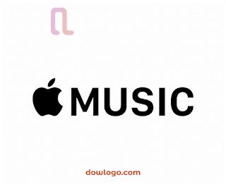 Logo Apple Music Vector Format CDR, PNG