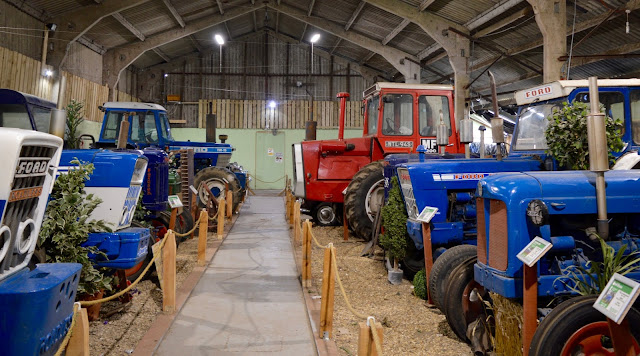 Northumberland Country Zoo Review (with a pushchair) - tractor