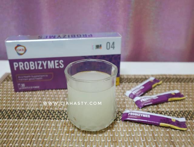 'GKB Probizymes' - Suplemen Untuk Kekalkan Kesihatan Usus Yang Sihat