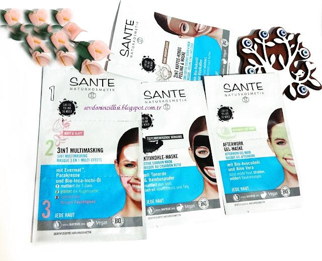 sante-organik-yuz-maskeleri