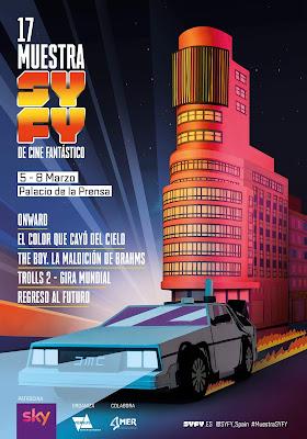 Cartel 17 Muestra SYFY de Cine Fantástico