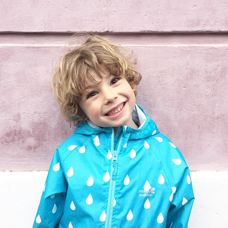 Muddy Puddles coat, kids fashion, kids raincoat
