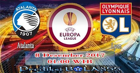 Prediksi Bola855 Atalanta vs Lyon 8 Desember 2017