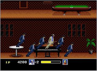 Michael Jackson Moonwalker jogo online master system