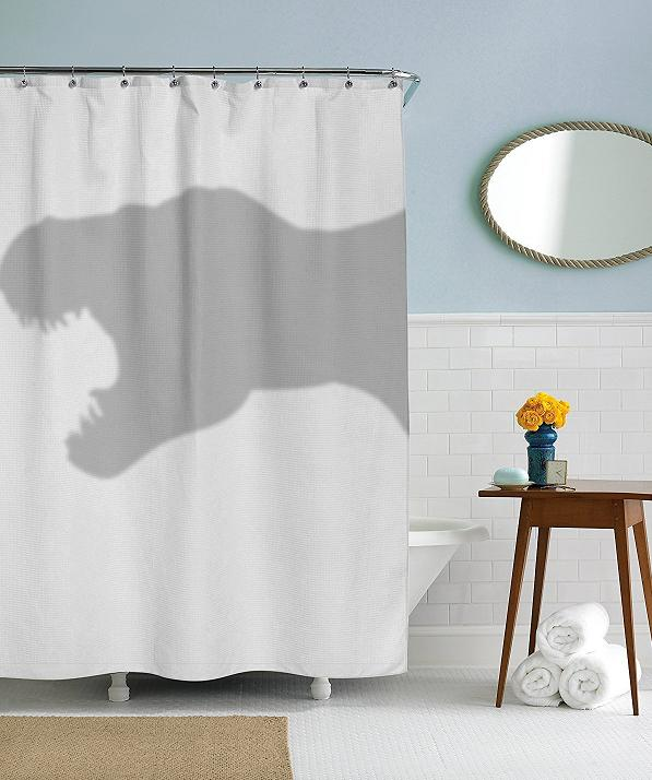 T Rex Shower Curtain