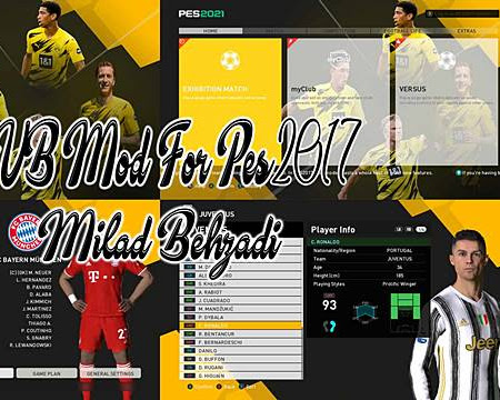 PES 2017 Borussia Dortmund Graphic Mods