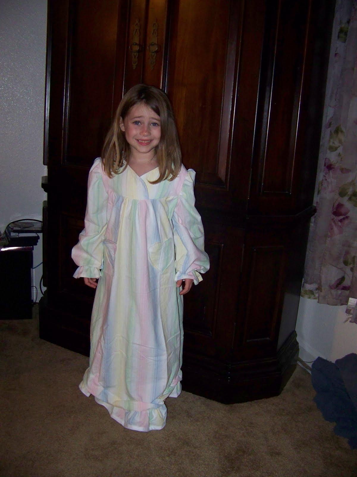 Girls Nightgown Pattern Patterns Gallery