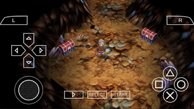 Download Final Fantasy III PPSSPP ISO High Compress Android