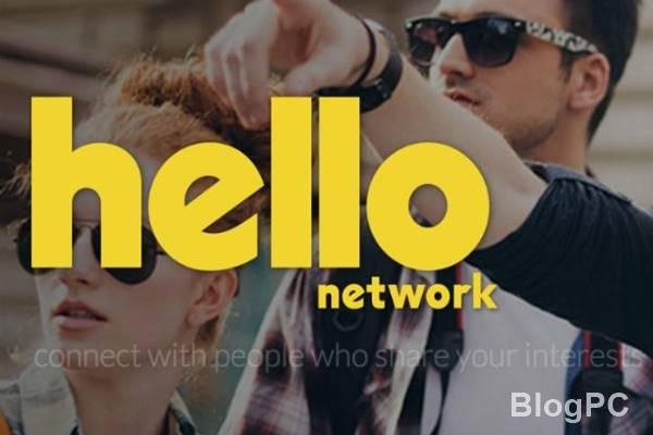 Nova rede social hello network