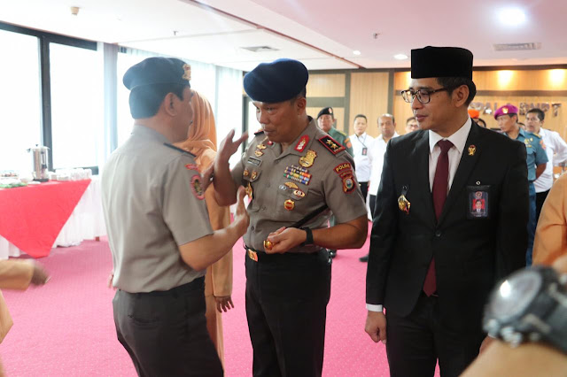 Kapolda Sulsel Serah Terima Jabatan, Deputi Bidang Kerjasama Internasional BNPT