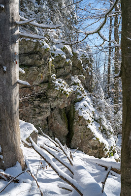 Rundweg Felswandergebiet  Wandern im Nationalpark Bayerischer Wald 20