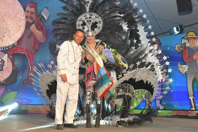 Reina%2BCorralejo. Yamiley%2BArtiles%2B3a%2Bdama%2B%25282%2529 - Fuerteventura.- Desiree Carballo  Reina del Carnaval de La Oliva 2020  en una gala multitudinaria e integradora