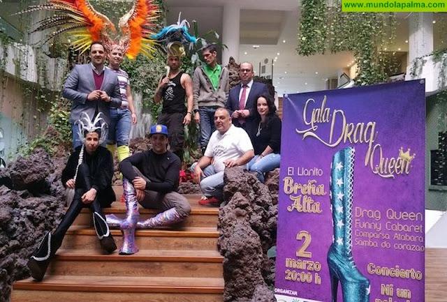 Breña Alta celebrará la 'Gala Drag' y la Sardina de El Llanito el próximo sábado