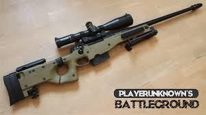 4 Senjata Sniper Terbaik Pro Player dan Mematikan di PUBG