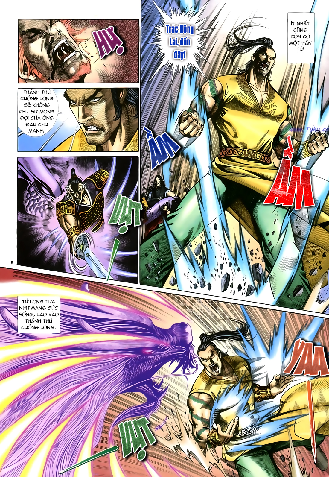 Anh hùng vô lệ Chap 23 trang 10