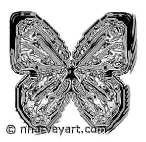 Butterfly sketch - Chrome edit