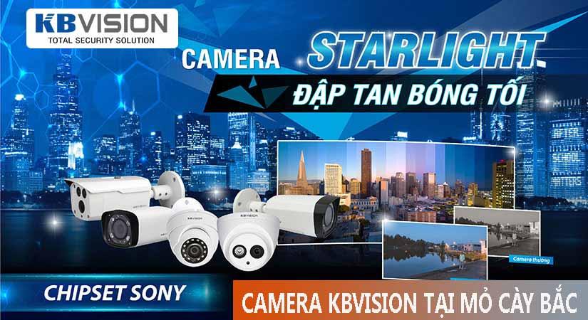 Camera quan sát chính hãng kbvision tại mỏ cày bắc