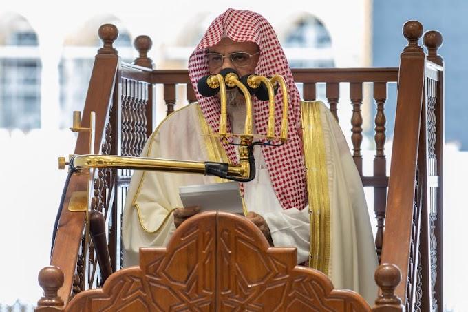 Summary of the Jumu'ah Khutbah from Masjid Al Haram, Makkah (1 January 2021)