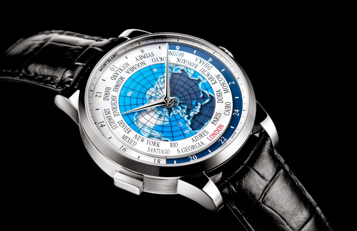 Pre-SIHH 2015: Montblanc - Heritage Spirit Orbis Terrarum | Time and Watches