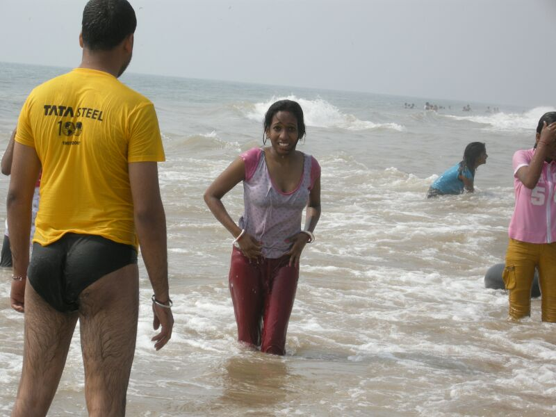 Indian Girls In Bikini At Goa Beach - Chuttiyappa-5366