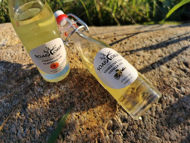 Makový olej Soaphoria je bohatým zdrojom vitamínu E