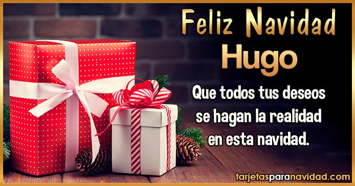 Feliz Navidad Hugo