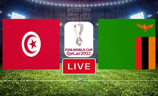 Match : Zambie vs Tunisie En Direct | Qualifications pour la Coupe du Monde de la FIFA, Qatar 2022