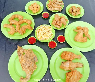 Ting Tong Ayam Goreng Yang Sedap, Bersih, Segar dan Halal