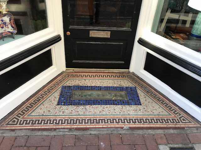 Doorway mosaic, old town, Margate